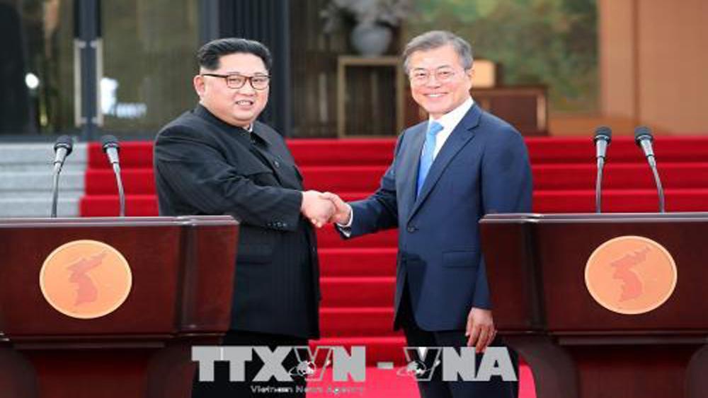 Dư luận quốc tế đánh giá cao kết quả hội nghị thượng đỉnh liên Triều